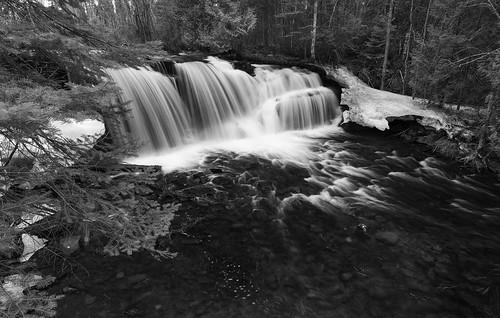 Raleigh Falls B&W | by Robin Earl