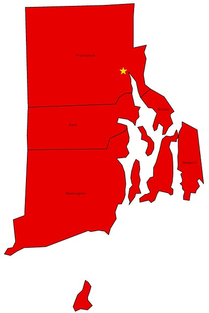 Counties I've Visited in Rhode Island
