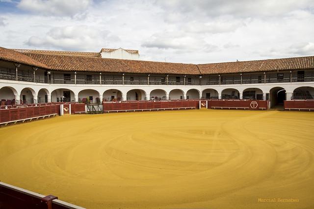 Spain - Ciudad Real - Almaden - Hexagonal bullring