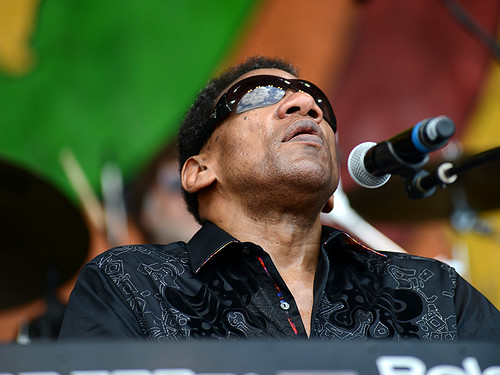 Henry Butler at Jazz Fest 2016. Photo by Leon Morris.
