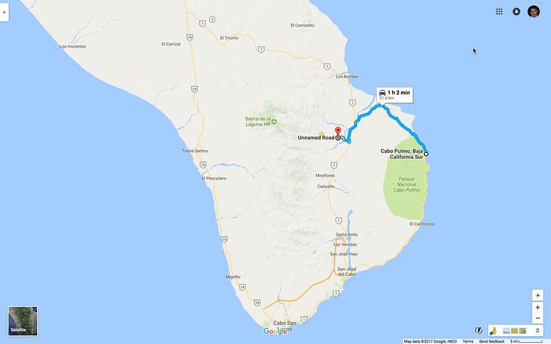 Cabo Pulmo to Santiago
