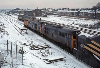 31247 & 31156 at Newark