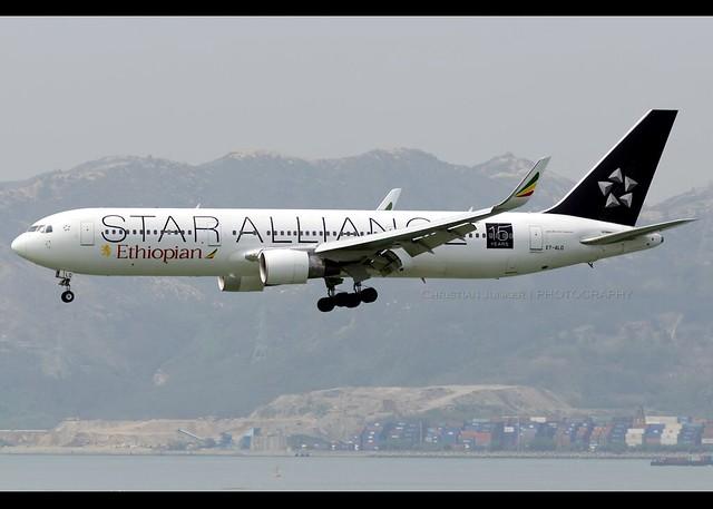 B767-300WL | Ethiopian Airlines | Star Alliance | ET-ALO | VHHH