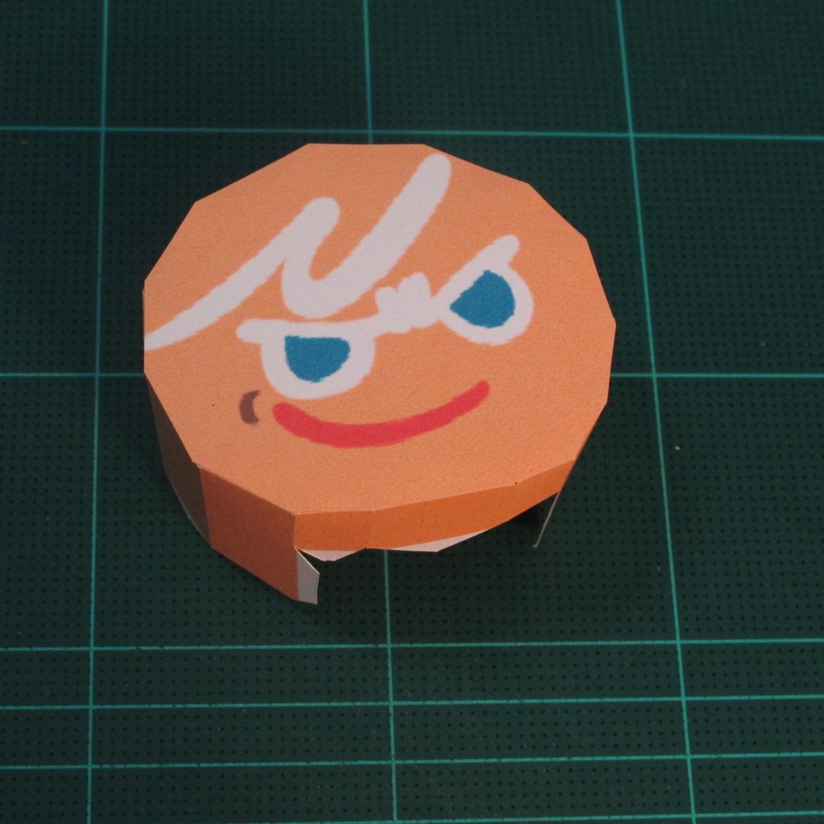 วิธีทำโมเดลกระดาษตุ้กตาคุกกี้รัน คุกกี้ผู้กล้าหาญ แบบที่ 2 (LINE Cookie Run Brave Cookie Papercraft Model Version 2) 007