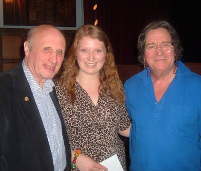Michael Slater, Kirsty McDuff and Richard O'Callaghan
