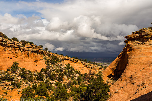 Switchback Canyon Clouds | by IntrepidXJ
