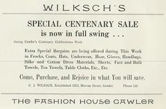 Wilksch's 1939
