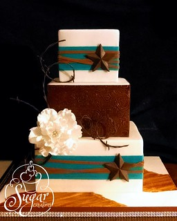 western wedding cake | by RebeccaSutterby