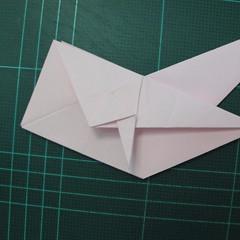 การพับกระดาษเป็นไดโนเสาร์ทีเร็กซ์ (Origami Tyrannosaurus Rex) 021