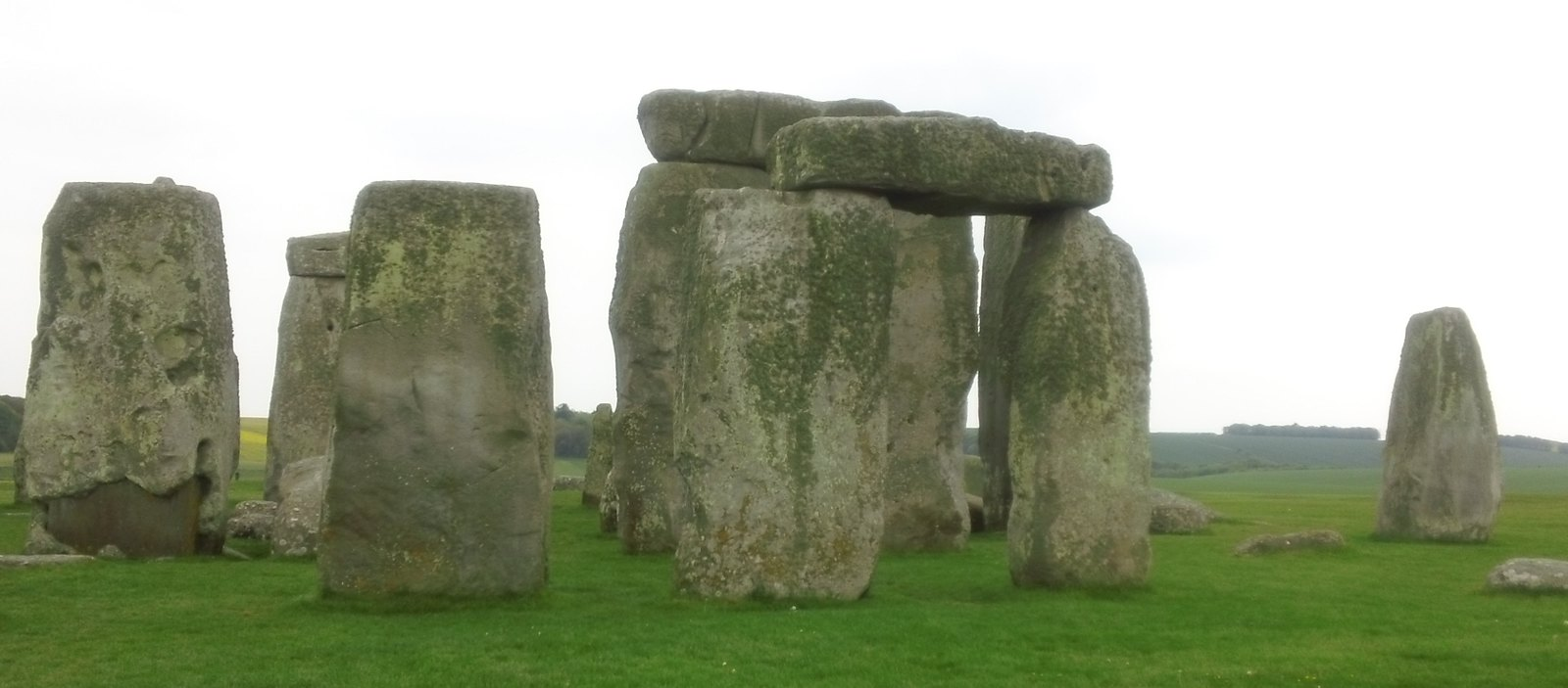 Stonehenge; up close & personal, almost