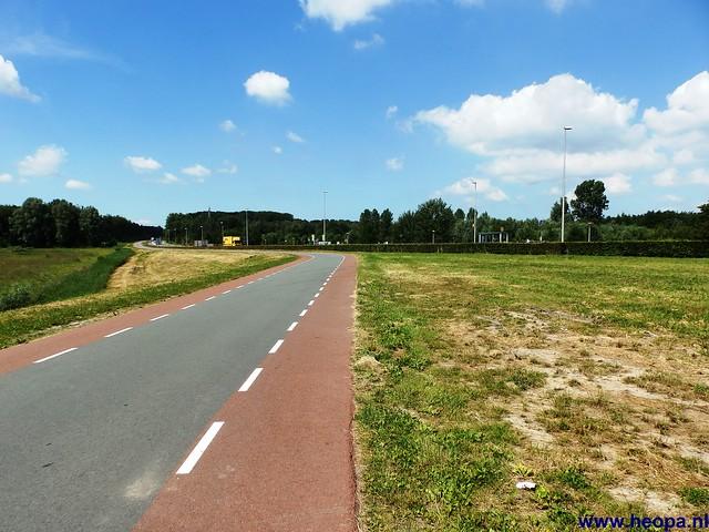 12-06-2014 Dronten Roggebotzand  20 Km (34)