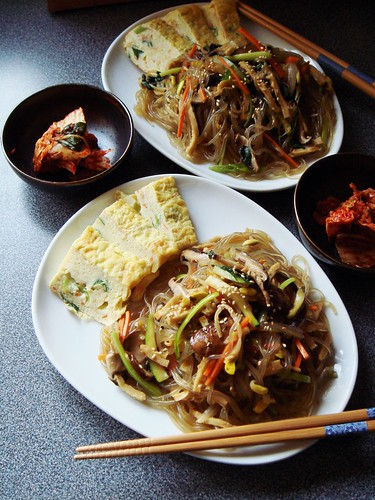 Japchae: Korean Stir-Fry Noodles | by ComeUndone