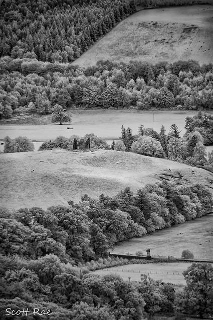 Horsbrugh Castle from Glentress