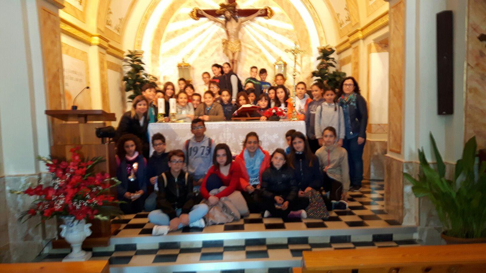 (2017-03-31) - Visita ermita alumnos Yolada-Pilar, Virrey Poveda-9 de Octubre - Maria Isabel Berenquer Brotons (08)