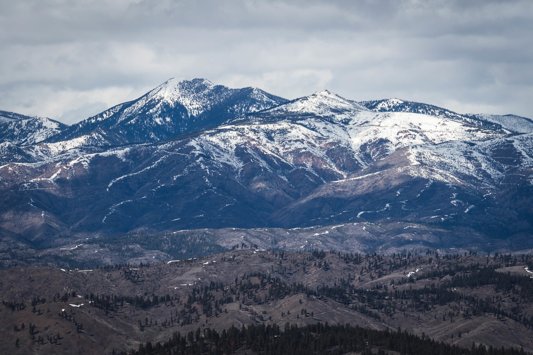 Stormy Mountain and Baldy Mountain