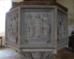 seven sacrament font confirmation