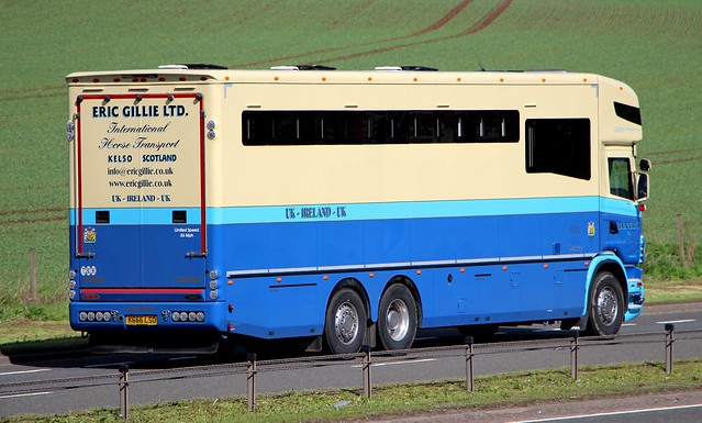 SCANIA Oakley - ERIC GILLIE LTD.Kelso Scottish Borders