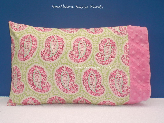Baby Girl Pillow - Belle Henna Paisley