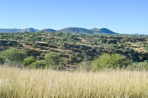africa dam namibia savanna vonbach vonbachdam windhoek freewheelycom jbcyclingafrica