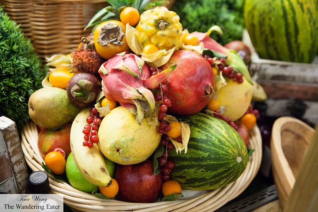 Gorgeous fruit basket
