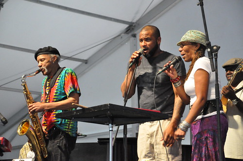 Charles Neville, Damian Neville, and Charmaine Neville. Photo by Kichea S Burt.