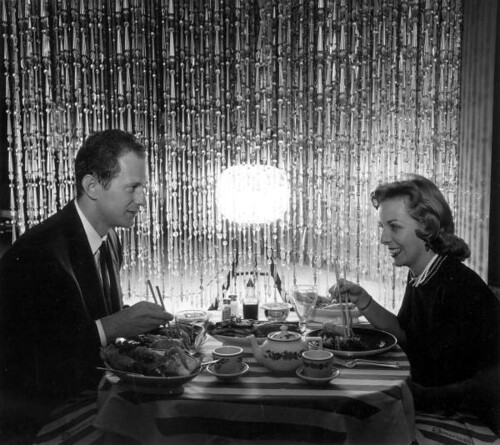 Couple dining in the Carioca Room of the Americana Hotel - Bal Harbour | by State Library and Archives of Florida