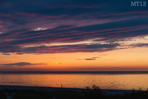 sunset summer ontario beach evening twilight matthew vibrant august colourful lakehuron trevithick portfranks 2013 matthewtrevithick mtphotography