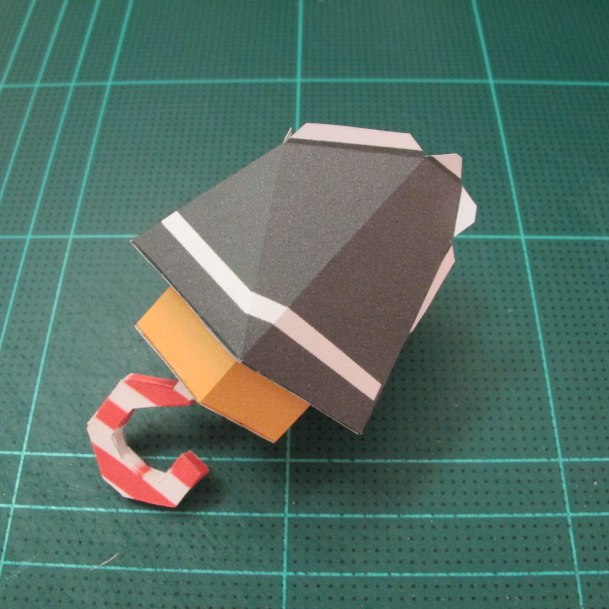 วิธีทำโมเดลกระดาษคุกกี้รัน คุกกี้รสโจรสลัด (Cookie Run Pirate Cookie Papercraft Model) 004
