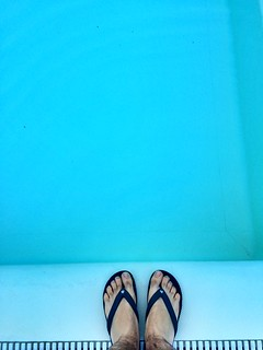 Swimmingpool  #swim #pool #summer #foot #me | by Matteomagr
