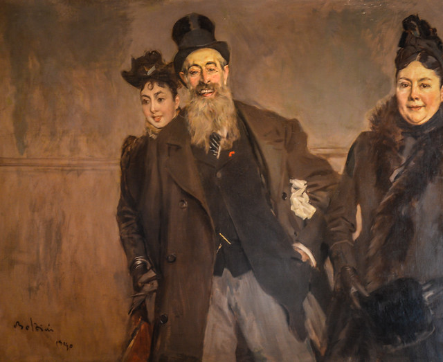 Giovanni Boldini - Painter Brown and his Family, 1890 at Museu Calouste Gulbenkian Lisbon Portugal