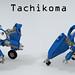 Tachikoma (Classic vs. Original) by Garry_rocks
