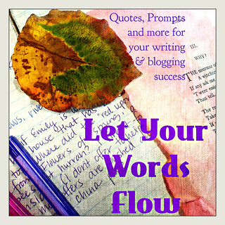Let Your Words Flow Button | by juliejordanscott