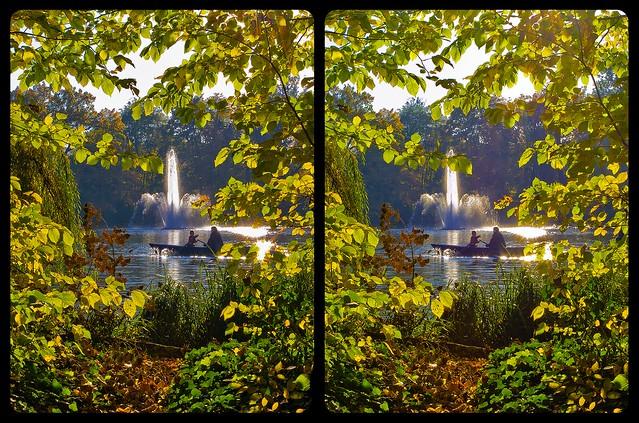 Seasonal Coloring 3D ::: DRi Cross-View Stereoscopy