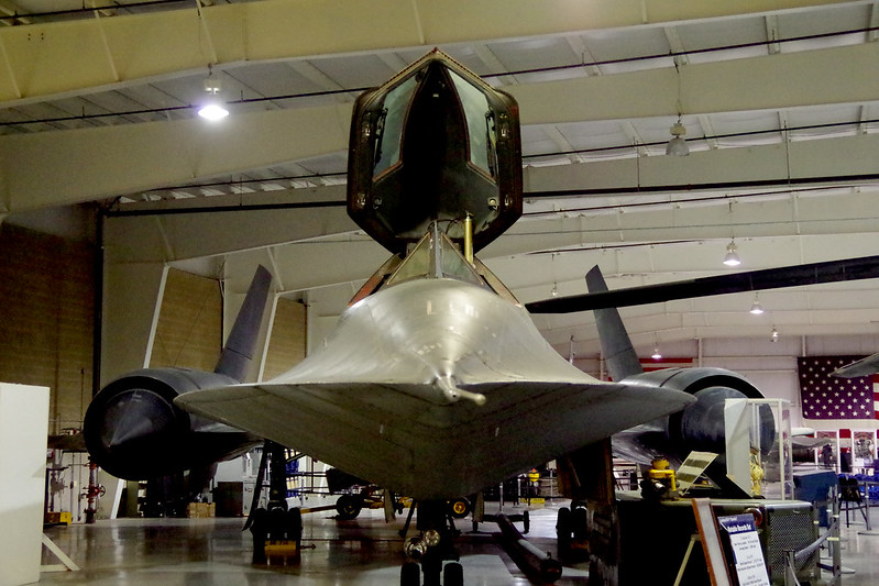 SR 71 C - Blackbird  - Hill Aerospace Museum - Utah