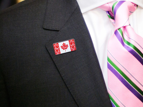 Canadian Native Flag Lapel Pin | by The Flag Shop