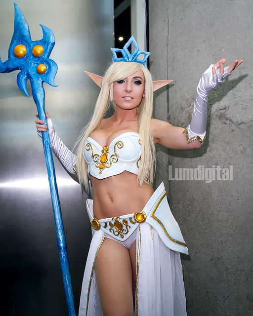 Jessica Nigri as Janna from League of Legends