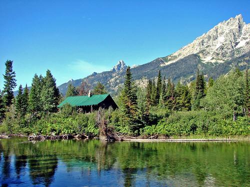 Cabin on Jenny Lake, Grand Tetons | by inkknife_2000 (10 million + views)