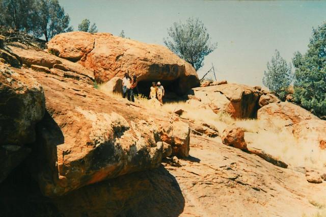Sacred Ngintaka cave