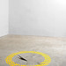 Zona limitata 2010 - PVC adesivo e acciaio inox - Diametro cm 100 - Istallazione dimensioni variabili