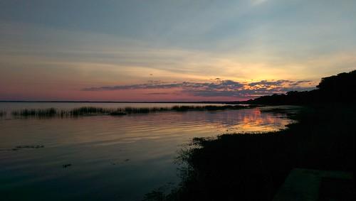 thisisnow htconem8 florida sunset lakemonroe lakefront