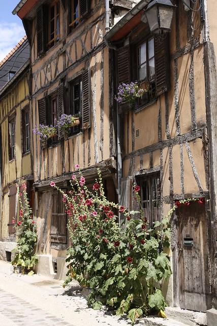 Colombage en Normandie