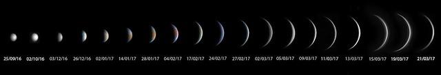 Venus 20160925 - 20170321