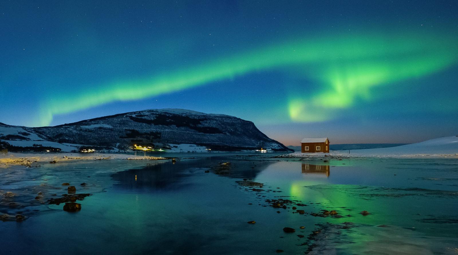 Aurora in Kasfjord