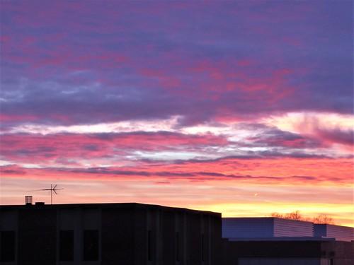 wheatonil nature sky clouds sunset