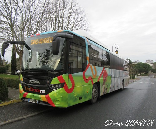 SCANIA Interlink LD CNG - CAPS SCANIA France | by Clément Quantin