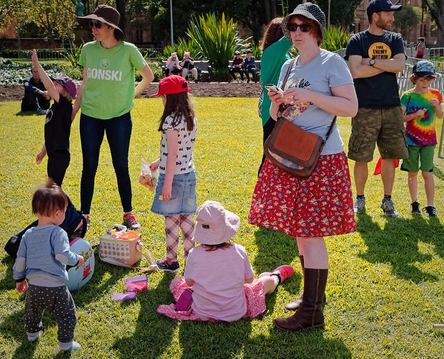 International Womens' Day March, Sydney, 2017