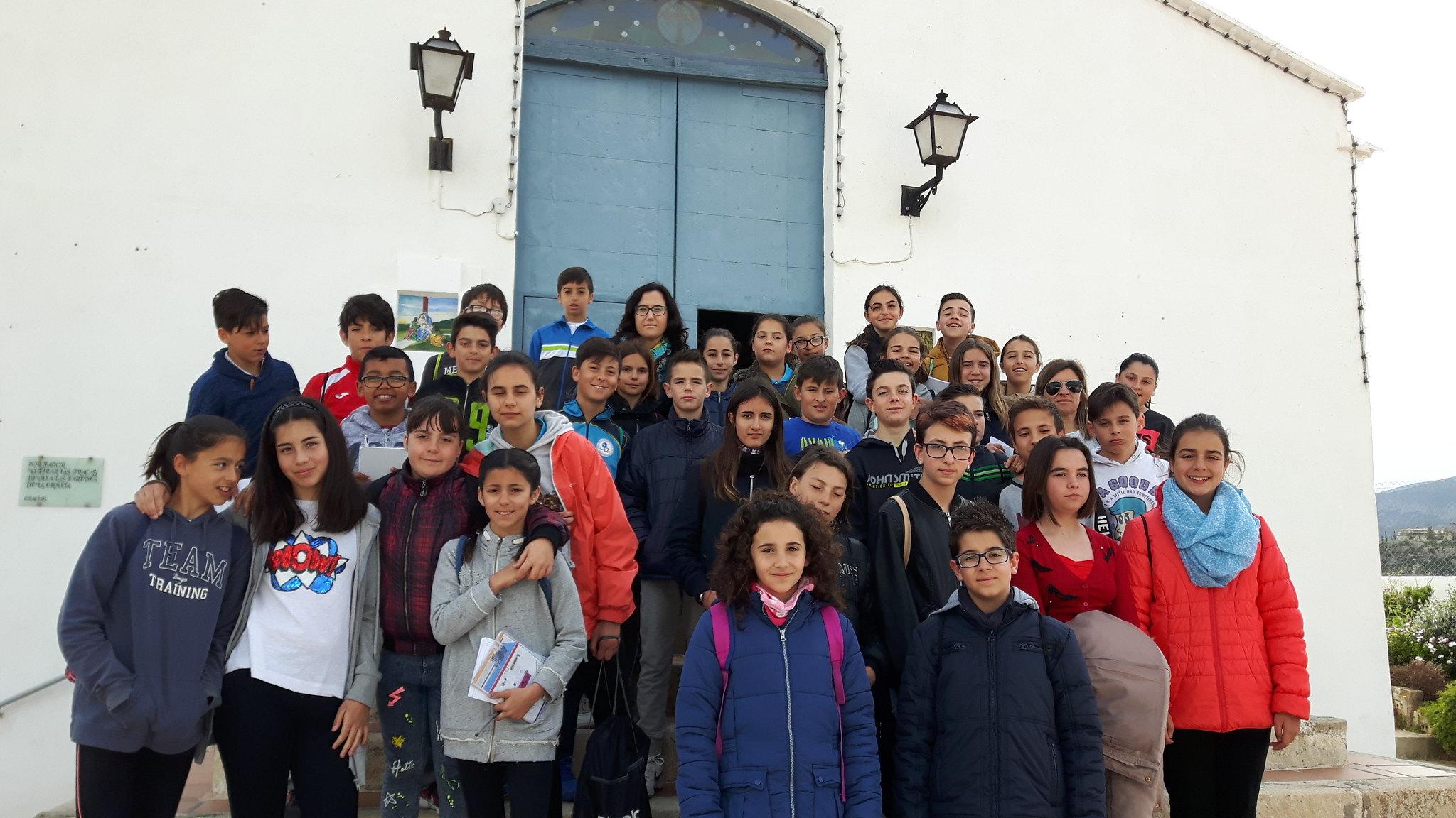 (2017-03-31) - Visita ermita alumnos Yolada-Pilar, Virrey Poveda-9 de Octubre - Maria Isabel Berenquer Brotons - (01)