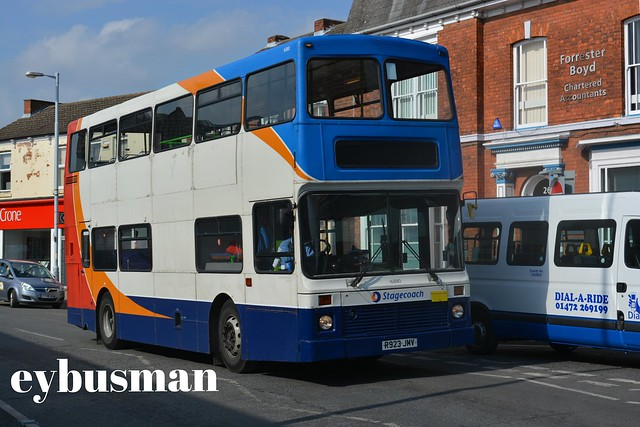 Stagecoach in Grimsby Cleethorpes 16880, R923JMV.