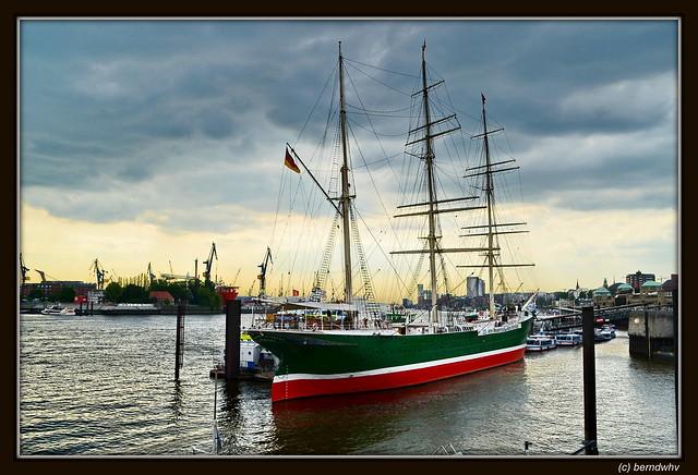 Hamburger Hafen / Rickmer Rickmers