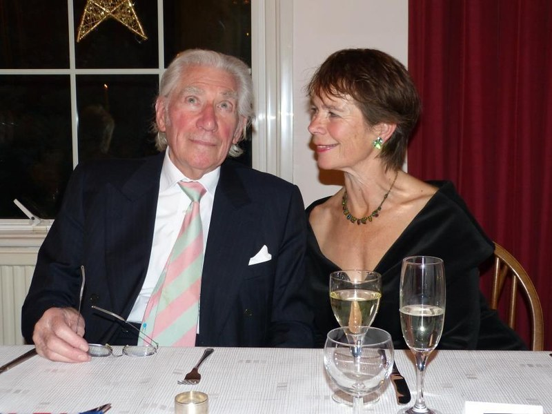 BenefitsFrank Finlay CBE and Celia Imrie, 2012